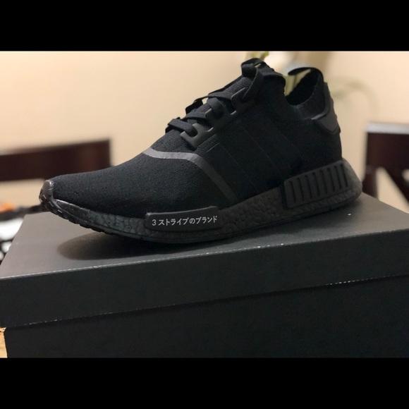 Scarpe adidas nmd giappone triple nero poshmark